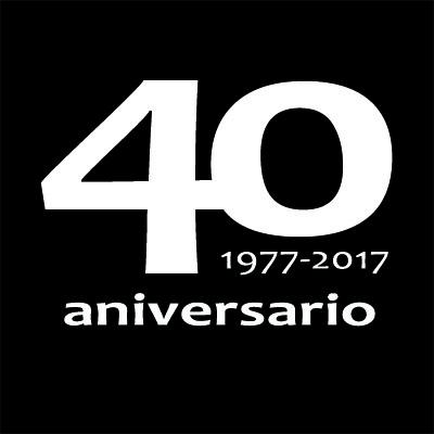 Logotipo 40 Aniversario Negro_400x400