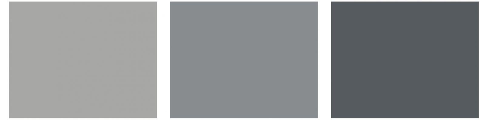 Gama gris negro elegancia intemporal con les couleurs le for Gama de grises pintura