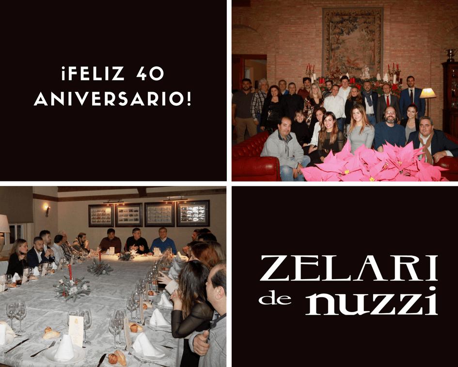 Zelari de nuzzi pone el broche de oro a su 40 aniversario - Zelari de nuzzi ...